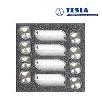 Tesla KARAT stříbrný 7 příd. tlačítek, 2 BUS Z