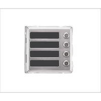 Dveřní telefon Brave modul NM 4 tlačítka