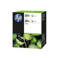 HP CH564EE No.301XL Twin Pack, 2x 6ml