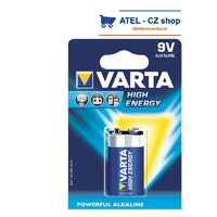 Baterie 9V Varta Super Alcaline