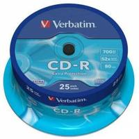 Verbatim CD-R Extra Protection 25 ks spindle