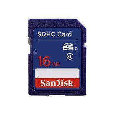 SanDisk 16GB SDHC karta, Class 4 - 1