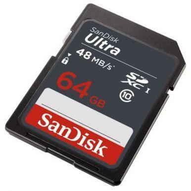 SanDisk Ultra 64GB SDXC karta, UHS-I - 1