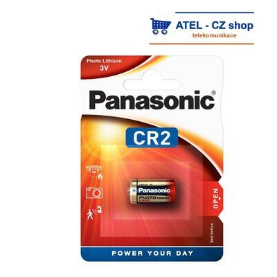 Baterie lithiová CR2 Panasonic - 1
