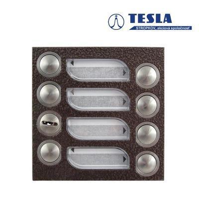 Tesla KARAT měděný 7 příd. tlačítek, 2 BUS Z - 1