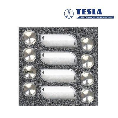 Tesla KARAT stříbrný 7 příd. tlačítek, 2 BUS Z - 1