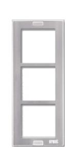NUDV rámeček 3 moduly - 1