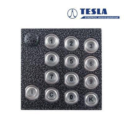 Tesla KARAT stříbrný klávesnice, 2 BUS - 1