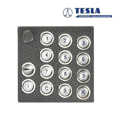 Tesla KARAT stříbrný klávesnice, 2 BUS Z - 1