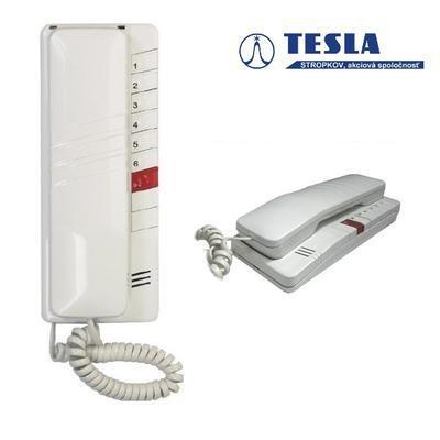Tesla - DT 93 DDS bílý 1 + 6 tlačítek - 1