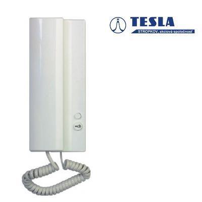 Tesla Elegant bílý 1 + 1 tlačítko - 4n bz - 1