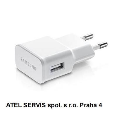Samsung ETA-U90E, USB nabíječka, 5V/2A bez kab, bí - 1