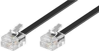 Telefonní kabel 2m černý - 1