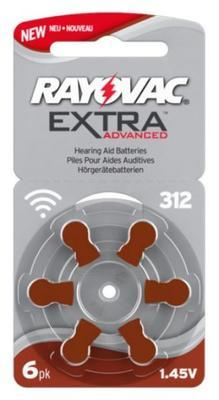 Varta Rayovac Extra Advanced 312 AUX - 1