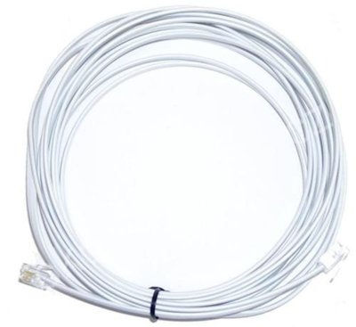Telefonní kabel 6m bílý - 1