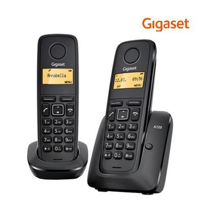 Gigaset A120 black DUO - 1