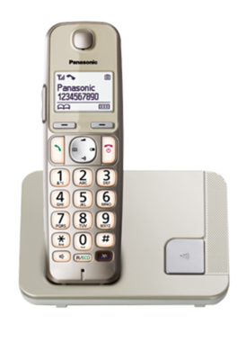 Panasonic KX-TGE210FXN senior - 1