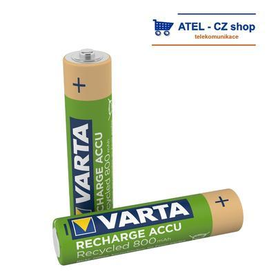 Baterie AAA VARTA 800 mAh nabíjecí - 1