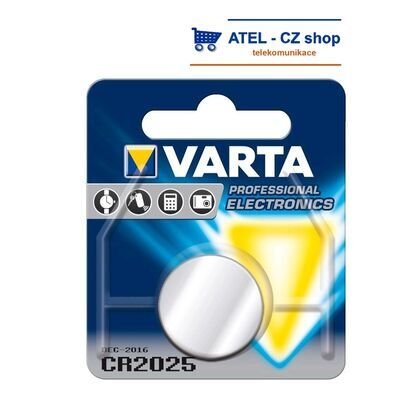 Baterie lithiová CR2025 VARTA - 1