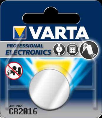 Baterie lithiová CR2016 VARTA - 1
