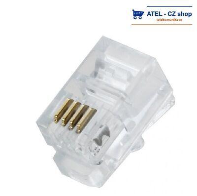 Konektor RJ9 4/4 sluchátkový - 1