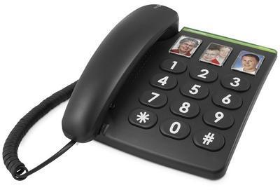 Doro PhoneEasy 331 černý AS CZ - 1