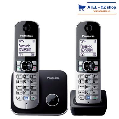 Panasonic KX-TG6812FXB - 1