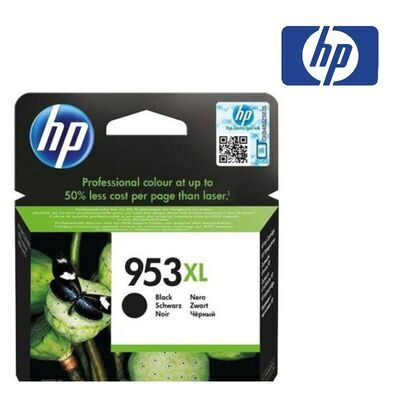 HP 953XL černá inkoustová kazeta, L0S70AE - 1