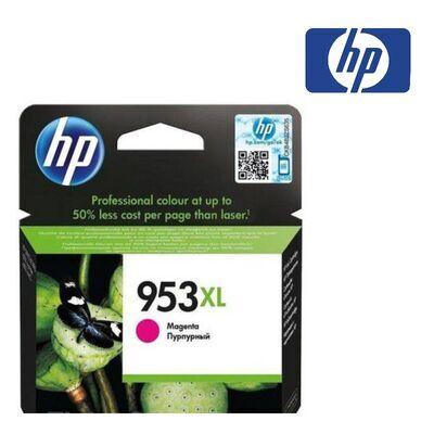 HP 953XL purpurová inkoustová kazeta, F6U17AE - 1