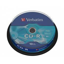 Verbatim CD-R Extra Protection 10 ks spindle - 1