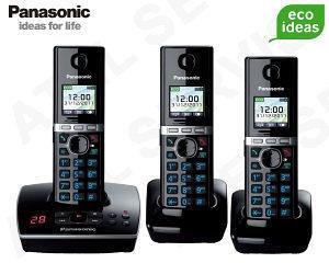 Panasonic KX-TG8061FXB TRIO - 1