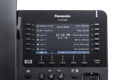 Panasonic KX-NT680NE-B - 2