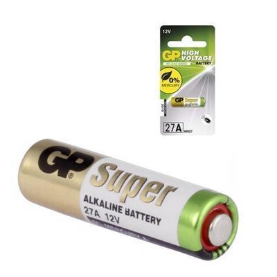 Baterie alkalická GP 27A 12V - 2