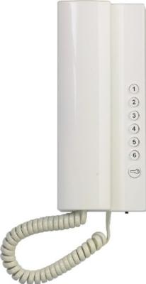 Tesla Elegant bílý 1 + 6 tlačítek - 2 BUS - 2