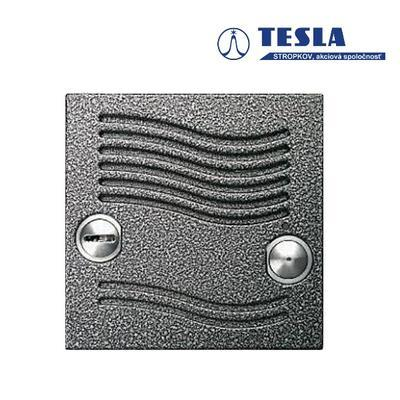 Tesla KARAT stříbrný bez tlačítek, 2 BUS Z - 2