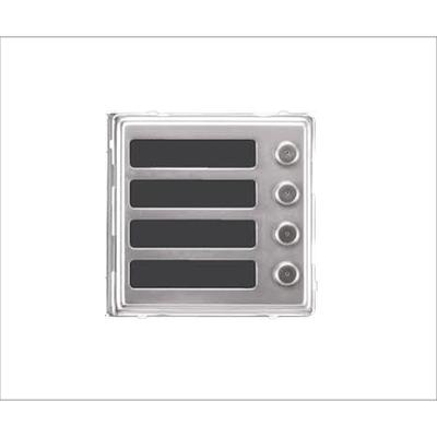Dveřní telefon Brave modul NM 4 tlačítka - 2