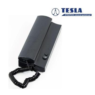 Tesla Elegant antracit 1 + 1 tlačítko - 4n bz - 2