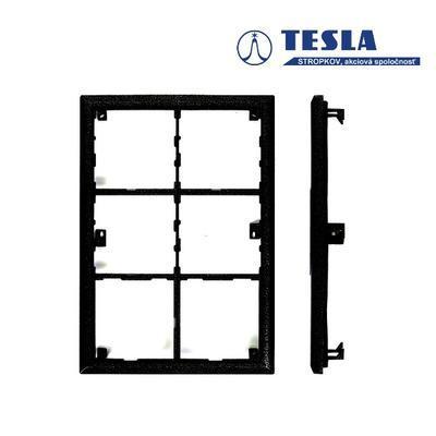 Tesla KARAT nerez - černý montážní rám 6 m - 2