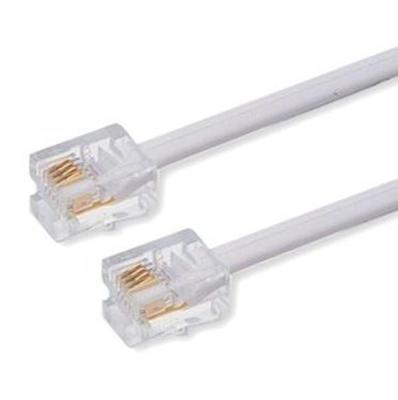Telefonní kabel 3m bílý - 2