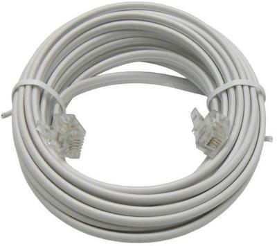 Telefonní kabel 7m bílý - 2