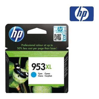 HP 953XL azurová inkoustová kazeta, F6U16AE - 2