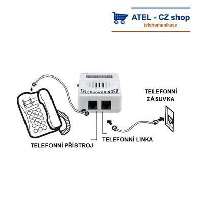 Přídavný telefonní zvonek JW-102 - 3