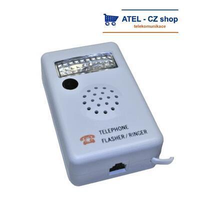 Světelný zvonek k telefonu Flasher - 3