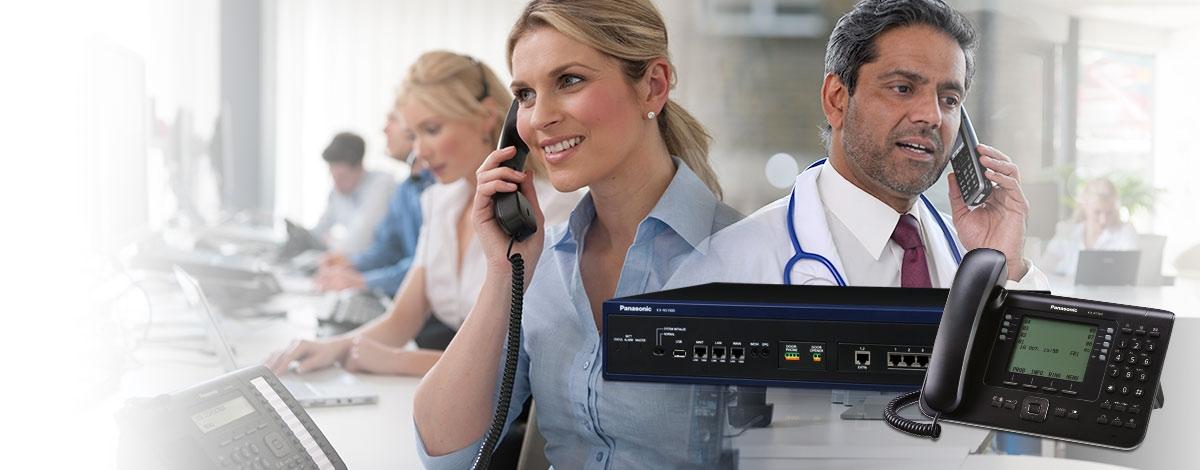 Telefonní ústředny Panasonic - servis, opravy, instalace a prodej